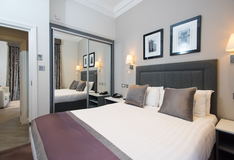 Best Western Victoria Palace, London, Suite - 1 queensize-seng - køkken - i anneksbygning, Værelse