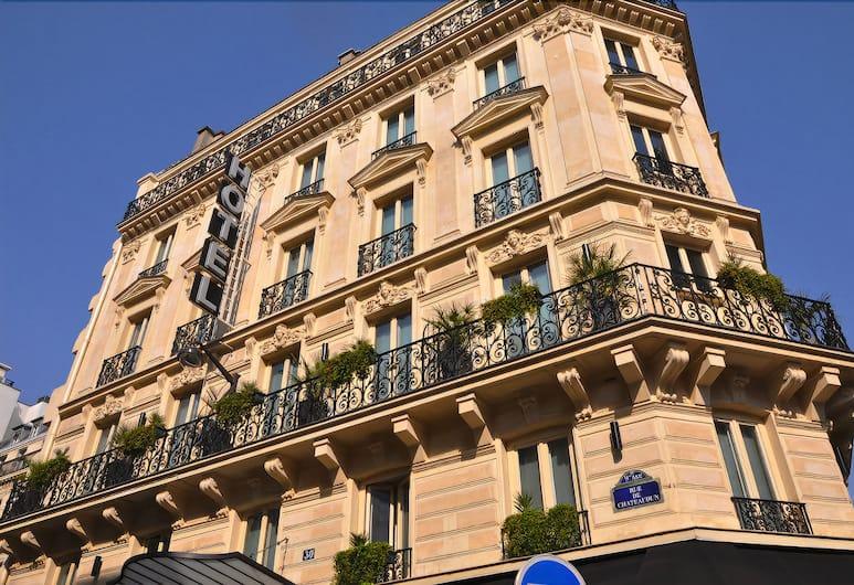 Hôtel Châteaudun Opéra, Paris, Utvendig