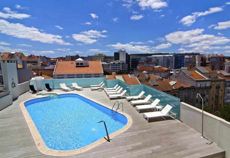 SANA Reno Hotel, Λισσαβώνα, Πισίνα στην ταράτσα