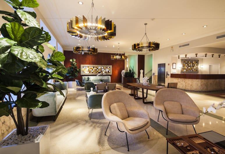 The Hotel of South Beach, Miami Beach, Hotellet innvendig