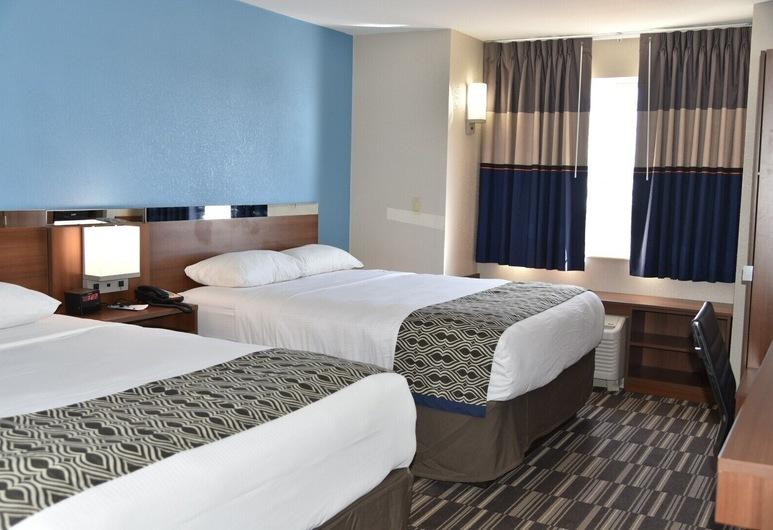 Microtel Inn & Suites by Wyndham Fond Du Lac, Fondulaka, Standarta numurs, 2 divguļamās karalienes gultas, Viesu numurs