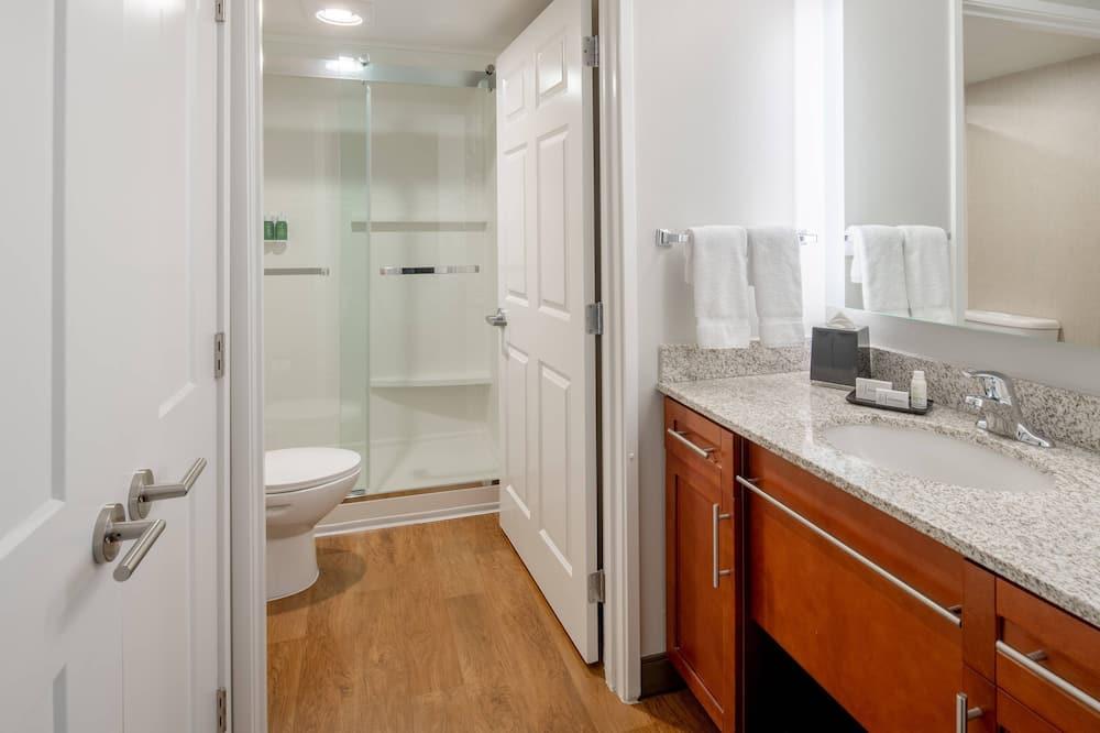 Apartmán, 2 spálne, nefajčiarska izba - Kúpeľňa