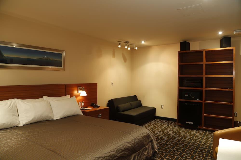 Namiņš, 1 divguļamā karaļa gulta - Dzīvojamā zona