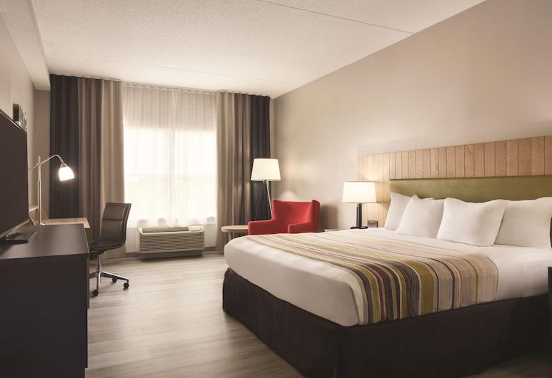 Country Inn & Suites by Radisson, Chattanooga-Lookout Mountain, צ'טנוגה, סוויטה, חדר שינה אחד, ללא עישון (1 King Bed), חדר אורחים