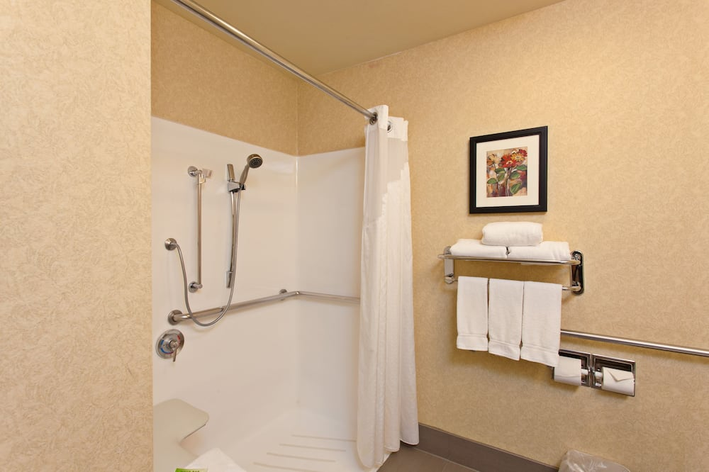 Room, 1 King Bed, Accessible, Non Smoking (Roll-In Shower) - Bathroom