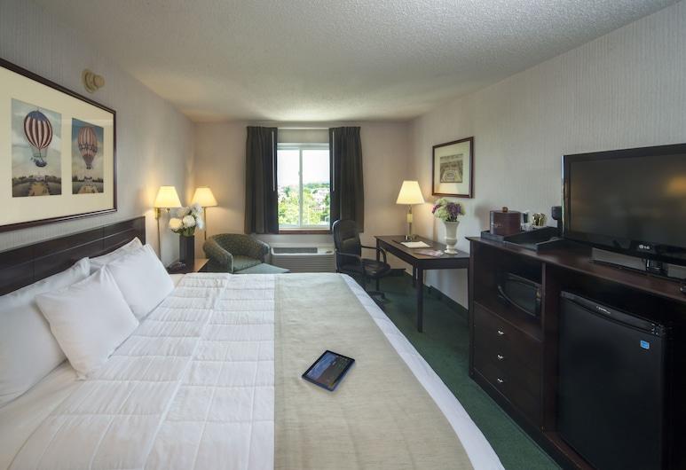 Meadowlands Plaza Hotel, Secaucus, Standaard kamer, 1 kingsize bed, Kamer