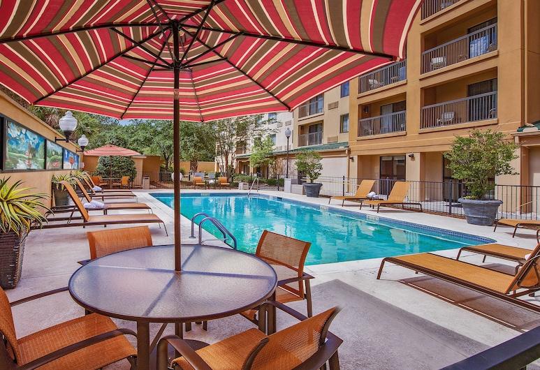 Courtyard by Marriott North Charleston Airport/Coliseum, North Charleston, Outdoor Pool