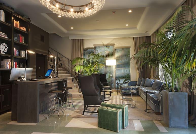 The Shepley Hotel, Miami Beach, Prostor za sjedenje u predvorju