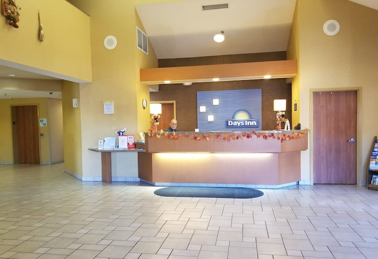 Days Inn by Wyndham Tulsa Central, Талса, Стойка регистрации