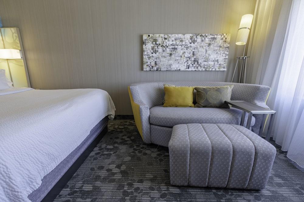 Habitación, 1 cama King size, para no fumadores - Sala de estar