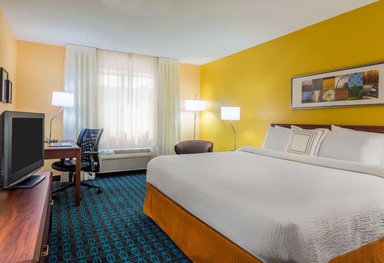 奧爾巴尼大學地區萬豪費爾菲爾德酒店, 阿爾巴尼, 客房, 1 張特大雙人床, 客房