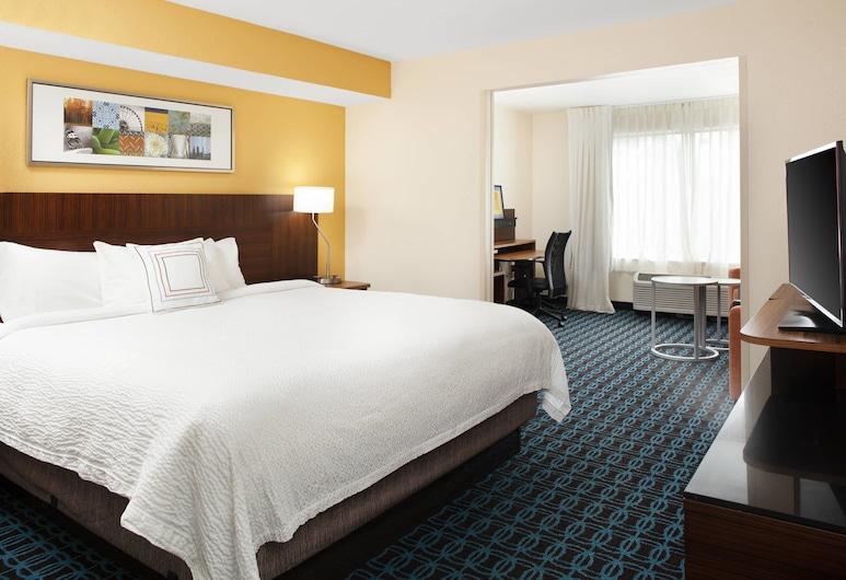 Fairfield Inn by Marriott Suites Macon, Makonas, Numeris, 1 labai didelė dvigulė lova, Nerūkantiesiems, Svečių kambarys