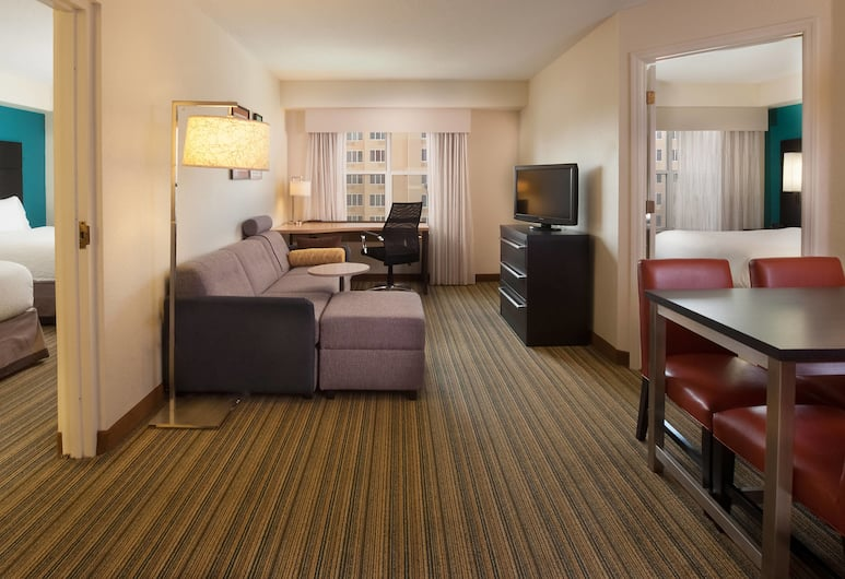 奧蘭多萬豪居家飯店及會議中心, 奧蘭多, 套房, 2 間臥室, 客房