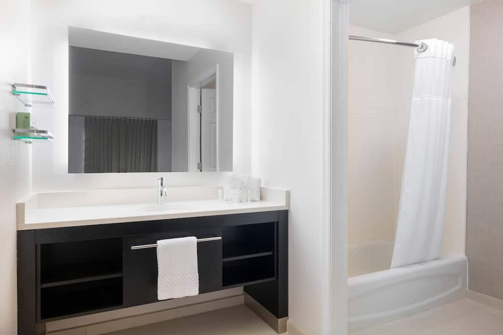 סוויטה, 2 חדרי שינה, ללא עישון - חדר רחצה