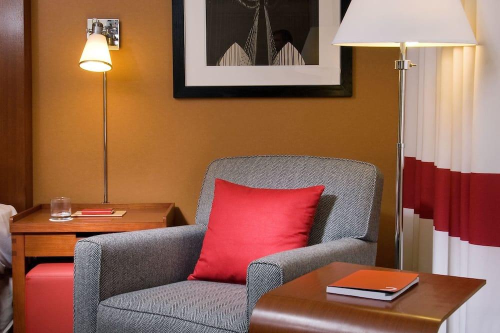 Habitación, 1 cama King size y sofá cama, de no fumar - Wohnbereich