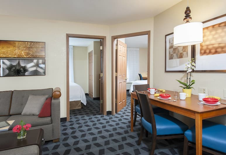TownePlace Suites Indianapolis Keystone, Indianapolis, Suite, 2 soverom, Gjesterom