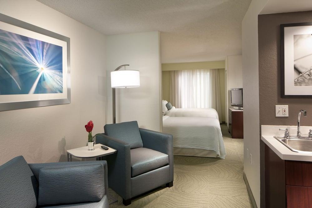 Suite, 2 Katil Kelamin (Double), Non Smoking - Ruang Tamu