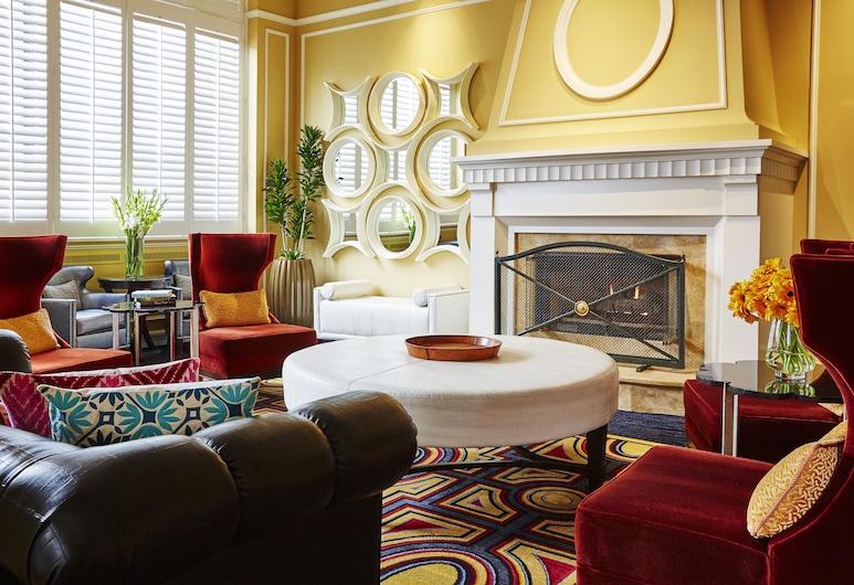 摩納哥鹽湖城金普頓飯店, 鹽湖城, 大廳休息區