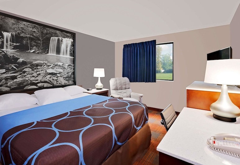 سوبر 8 باي ويندام فاييتفيل, فاييتفيل, غرفة عادية - سرير كبير, غرفة نزلاء