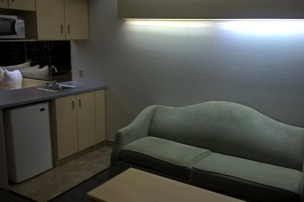 Studio Suite, 1 Queen Bed, Smoking - Living Area