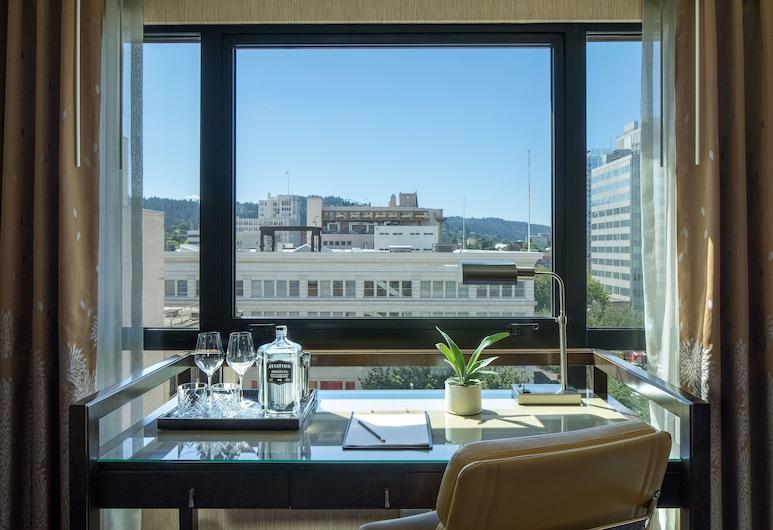 Dossier, Portland, Premium tuba, 2 kahevoodit, Vaade toast