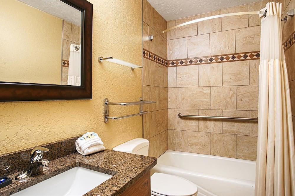 スタンダード ルーム クイーンベッド 1 台 禁煙 キッチン (Bunk beds) - バスルーム