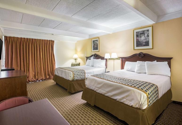 Rodeway Inn, Macon, Chambre Standard, 2 grands lits, non-fumeurs, Chambre