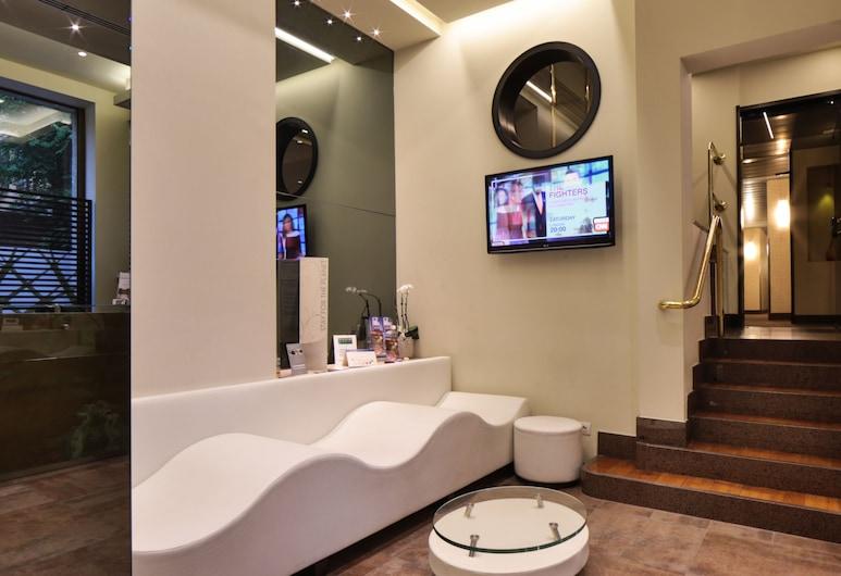 Best Western Hotel Madison, Milaan, Zitruimte lobby