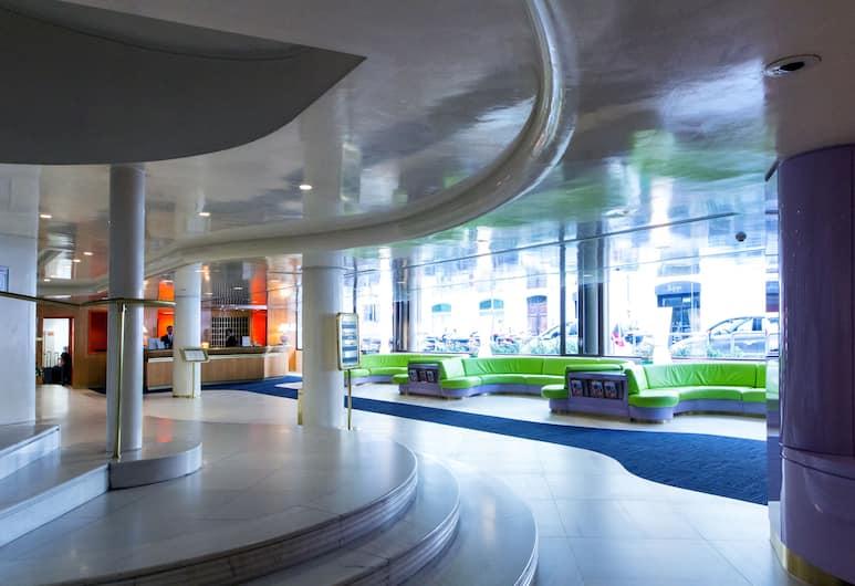 阿拉巴尼祿馬酒店, 羅馬, 櫃台