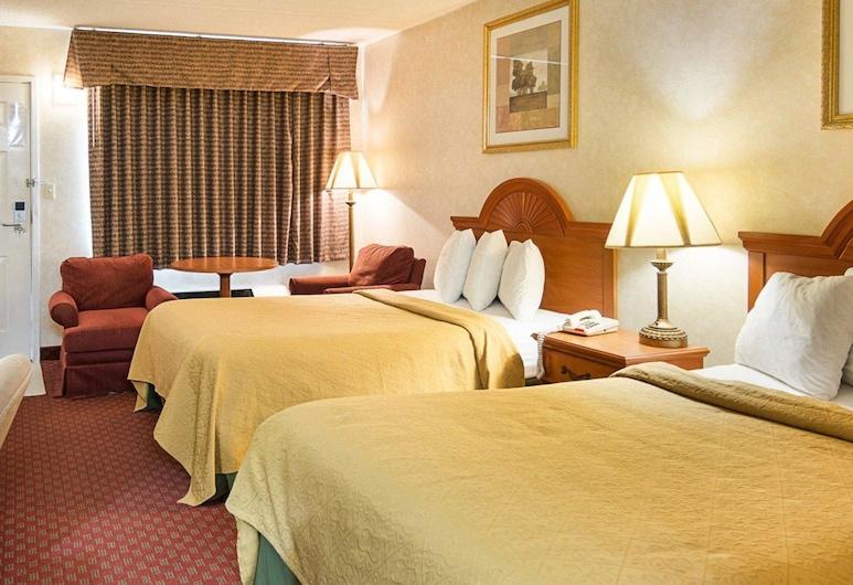 彼得斯堡 - 利堡品質飯店, 彼得斯堡, 標準客房, 2 張標準雙人床, 非吸煙房, 客房