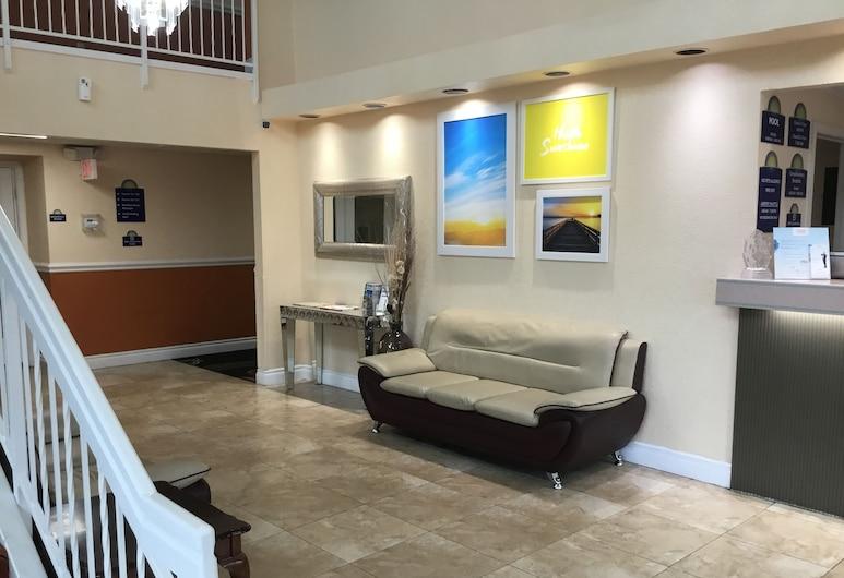Days Inn by Wyndham San Antonio Airport, San Antonijas, Poilsio zona vestibiulyje