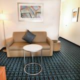 Номер-люкс, 1 ліжко «кінг-сайз», для некурців - Житлова площа