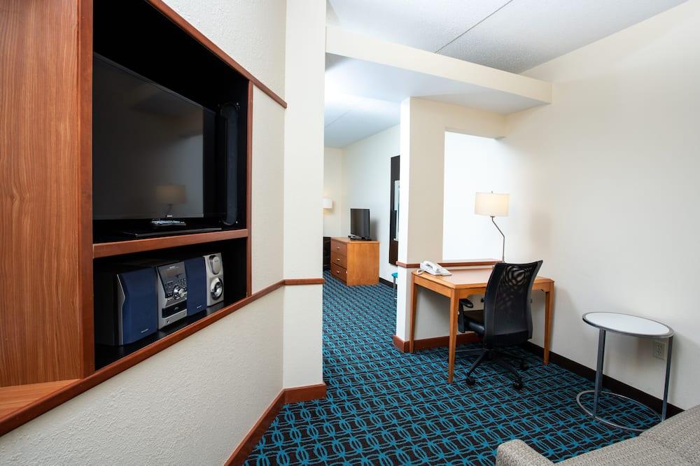 Номер-люкс, 2 двоспальних ліжка, для некурців - Житлова площа