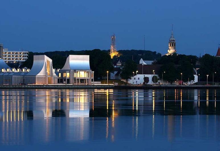 Slotshotellet Aalborg, Aalborg, Blick vom Hotel