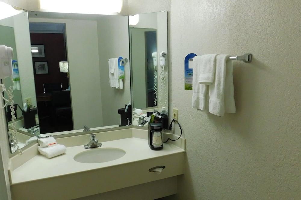 Luksusa numurs, viena guļamistaba, nesmēķētājiem (2 Double Beds) - Vannasistaba