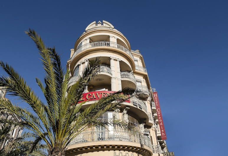 Cavendish, Cannes, Voorkant hotel