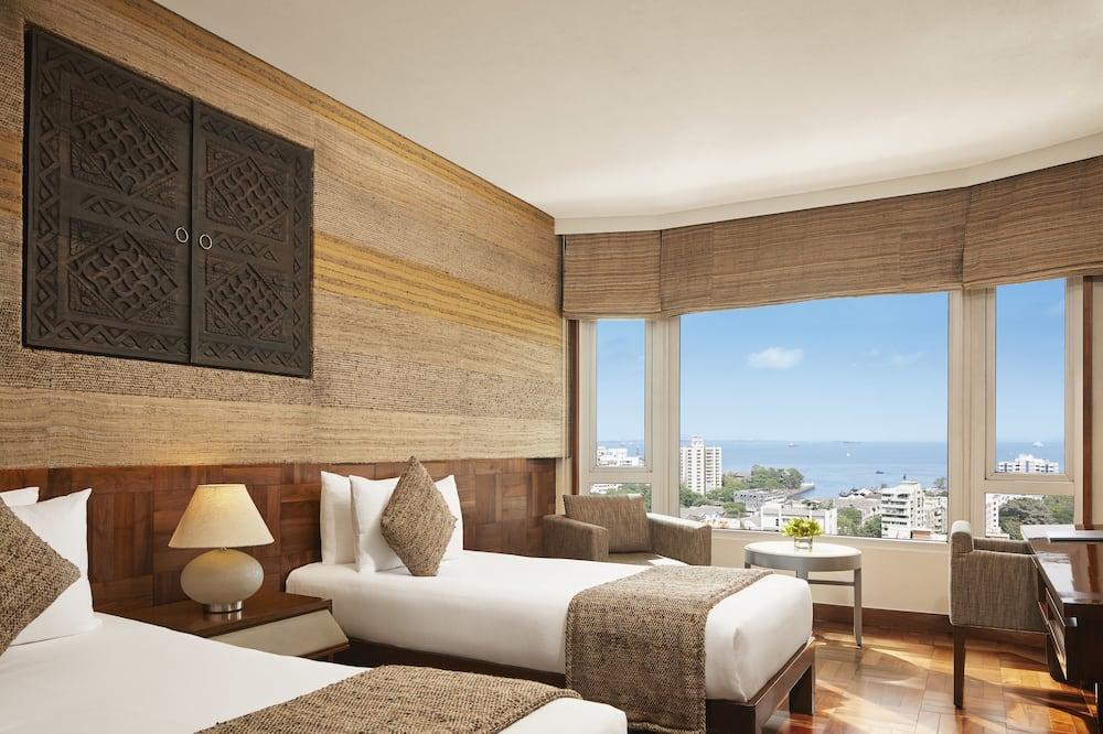 Deluxe Δωμάτιο, 2 Μονά Κρεβάτια, Μερική Θέα στη Θάλασσα - Δωμάτιο επισκεπτών