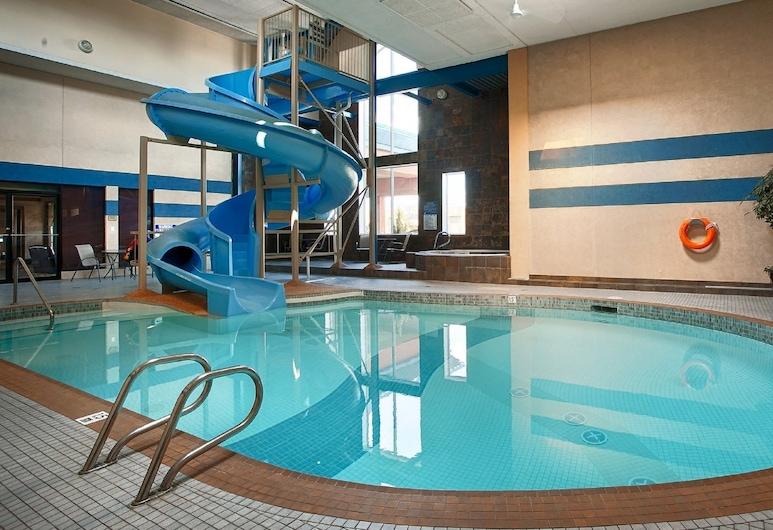 Best Western Plus City Centre Inn, Edmonton, Wasserrutsche