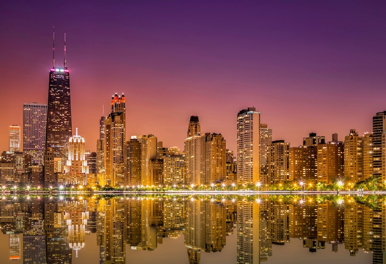InterContinental Chicago Magnificent Mile, Chicago, City view from property