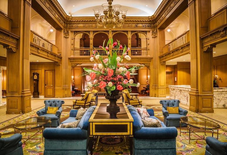 費爾蒙特奧林匹克酒店, 西雅圖, 大堂