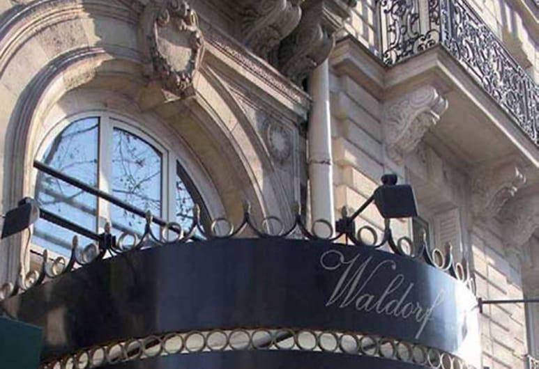 월도프 마들렌 호텔, 파리, 호텔 정면