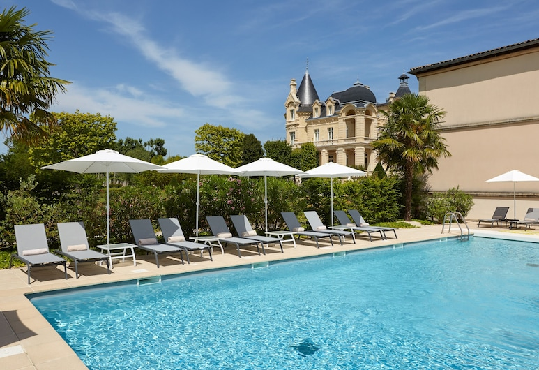 Chateau Hotel & Spa Grand Barrail, Saint-Émilion, Piscina
