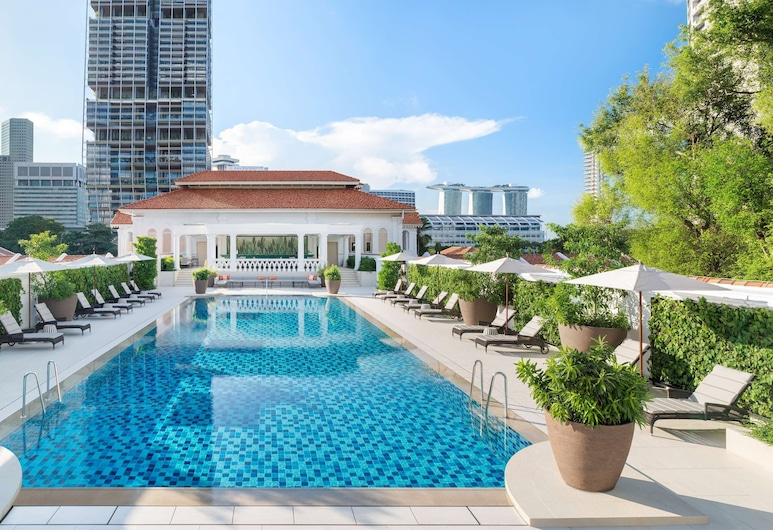 Raffles Singapore, Singapore, Outdoor Pool