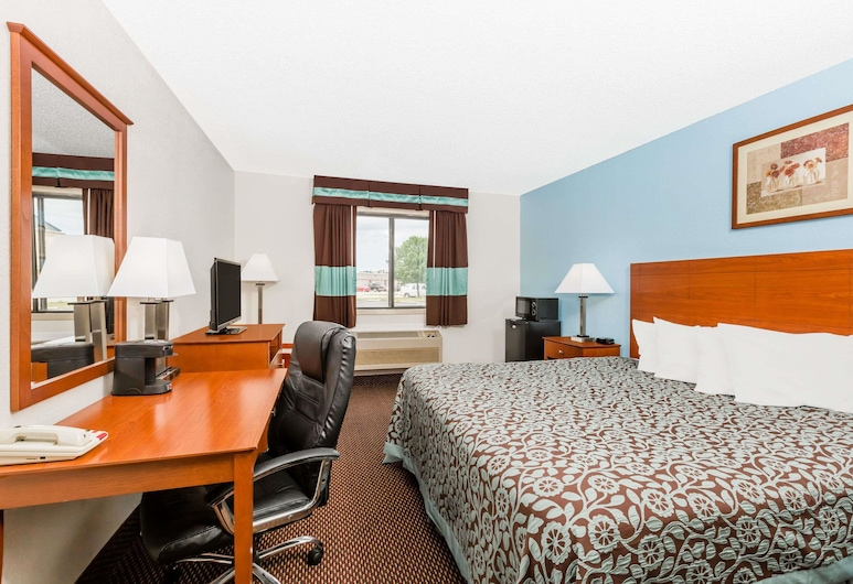 Days Inn by Wyndham Ankeny - Des Moines, Ankeny, Standardzimmer, 1 King-Bett, Zimmer