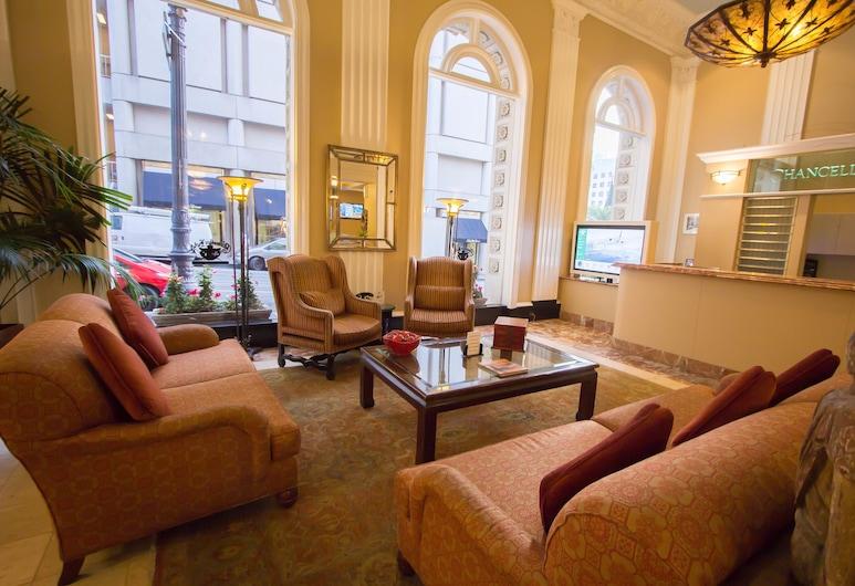 Chancellor Hotel on Union Square, São Francisco, Sala de Estar do Lobby