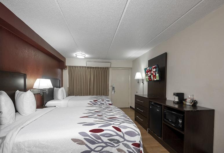 Red Roof Inn Columbia West, SC, Kolumbija, Deluxe soba, 2 bračna kreveta, za pušače, Soba za goste