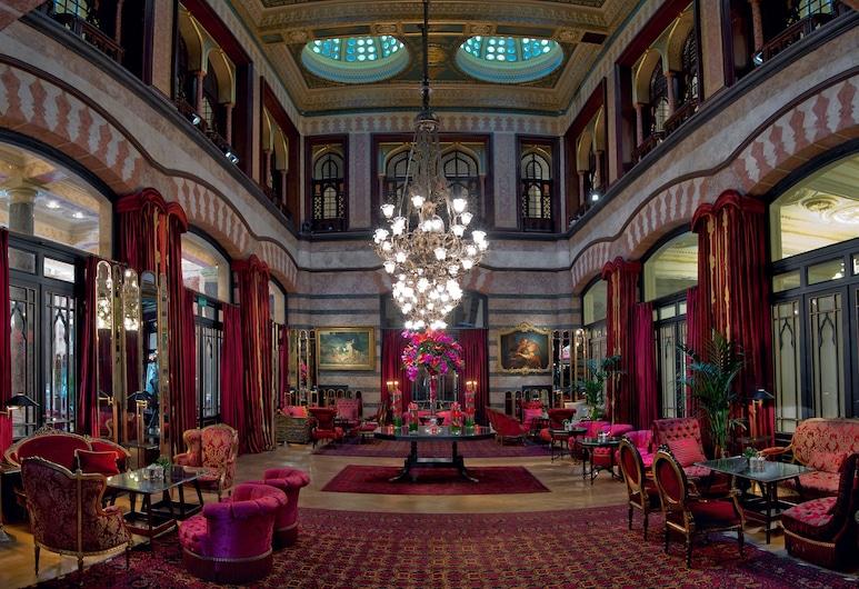 Pera Palace Hotel, Istanbul, Lobby