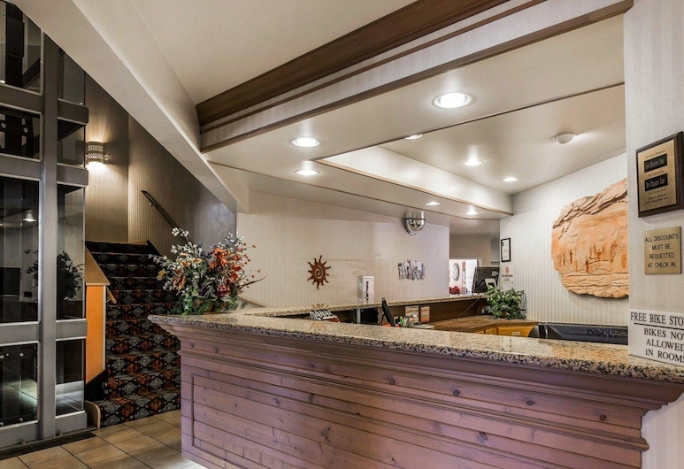 Quality Suites Moab near Arches National Park, Moab, Lobby