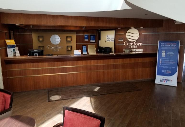 Comfort Inn Cleveland Airport, Мидлберг-Хайтс, Стойка регистрации