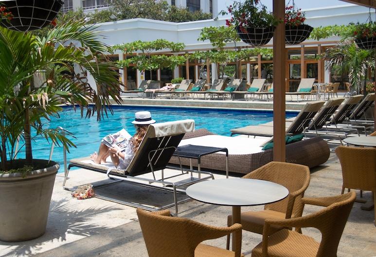 Hotel Caribe by Faranda Grand, Cartagena, Außenpool